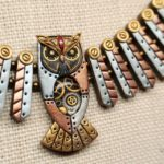 Mechanical Owl Necklace / Sowa Mechaniczna