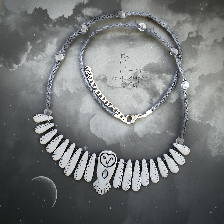 The Moon Owl Necklace / Sowa Księżycowa