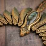 Forest Fairy Dragon Necklace
