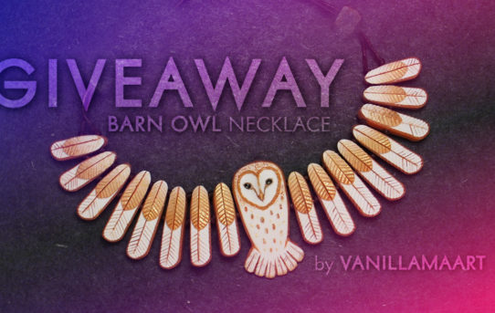 Barn Owl Necklace Giveaway!